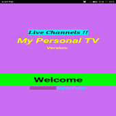 Personal News TV ( Live Channels) icon