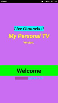 Personal News TV ( Live Channels) poster