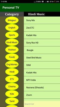 Personal News TV ( Live Channels) screenshot 2
