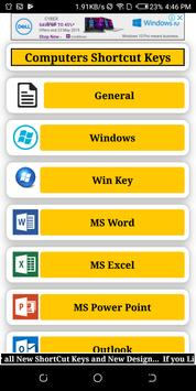 Computers Shortcut Keys - by pmearn.com screenshot 2