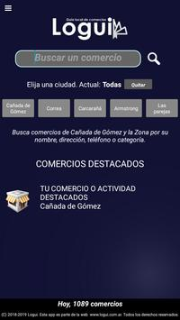 Logui, Guía de comercios poster