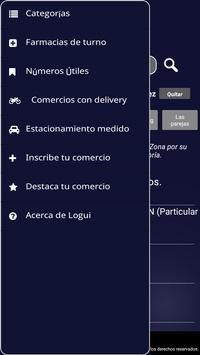 Logui, Guía de comercios screenshot 1