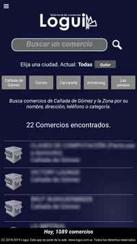 Logui, Guía de comercios screenshot 2