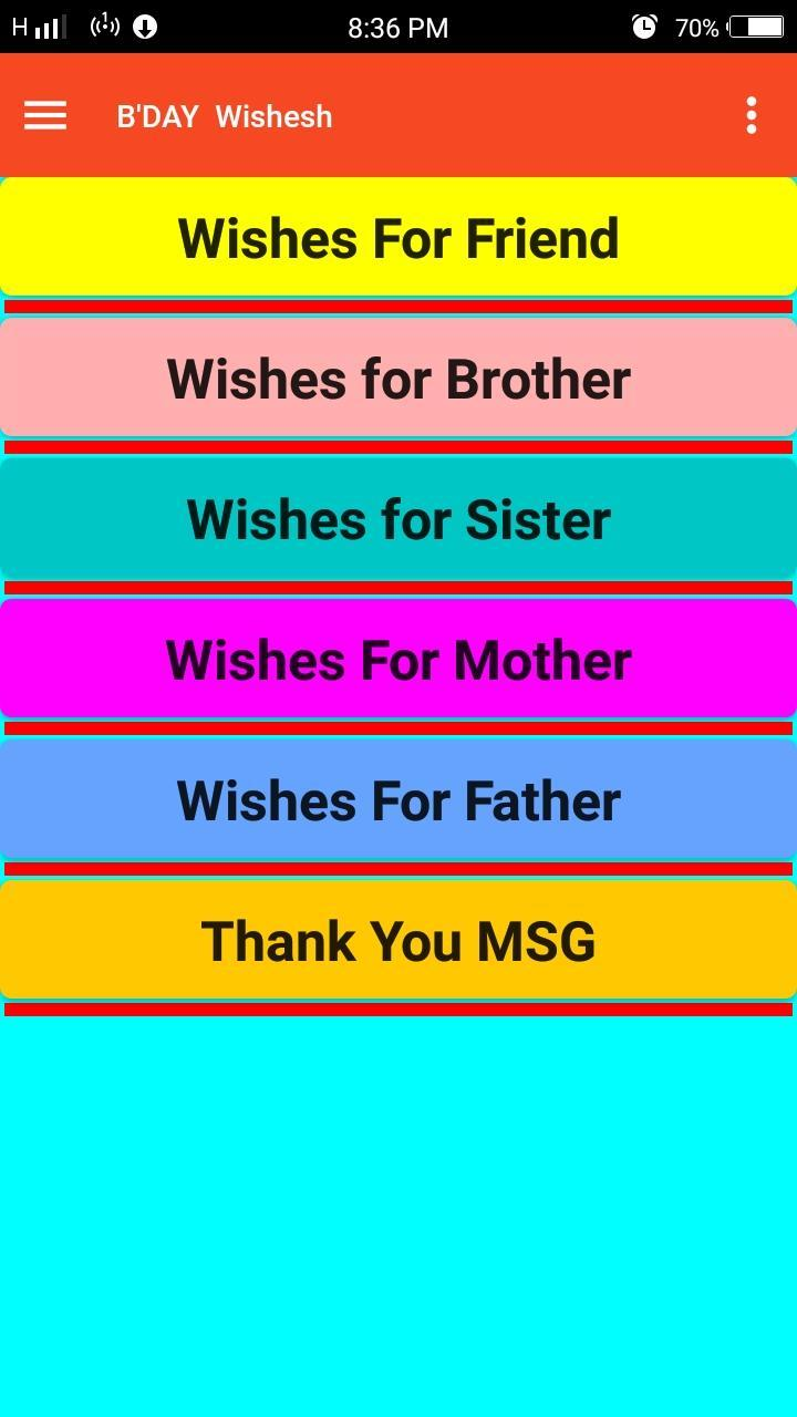 Birthday Wishes Marathi Hindi English For Android Apk Download