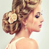 Beautiful hairstyles in stages icon
