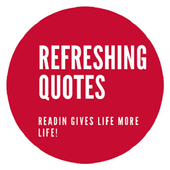 REFRESHING QUOTES - Great quotes icon