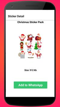 Christmas Sticker Pack for WhatsApp poster
