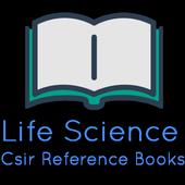 CSIR NET LIFE SCIENCE BOOKS icon