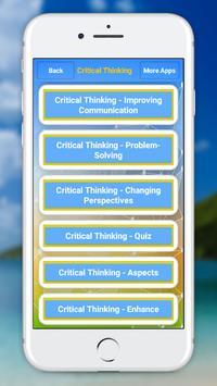 Critical Thinking screenshot 4