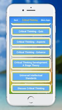 Critical Thinking screenshot 5