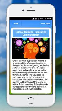 Critical Thinking screenshot 6