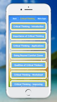 Critical Thinking screenshot 1
