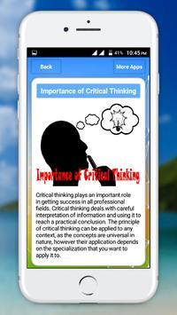 Critical Thinking screenshot 3