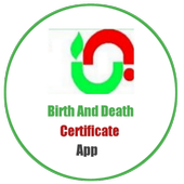 Birth And Death Certificate App icon