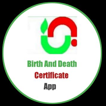 Birth And Death Certificate App poster