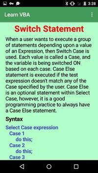 Learn VBA screenshot 2