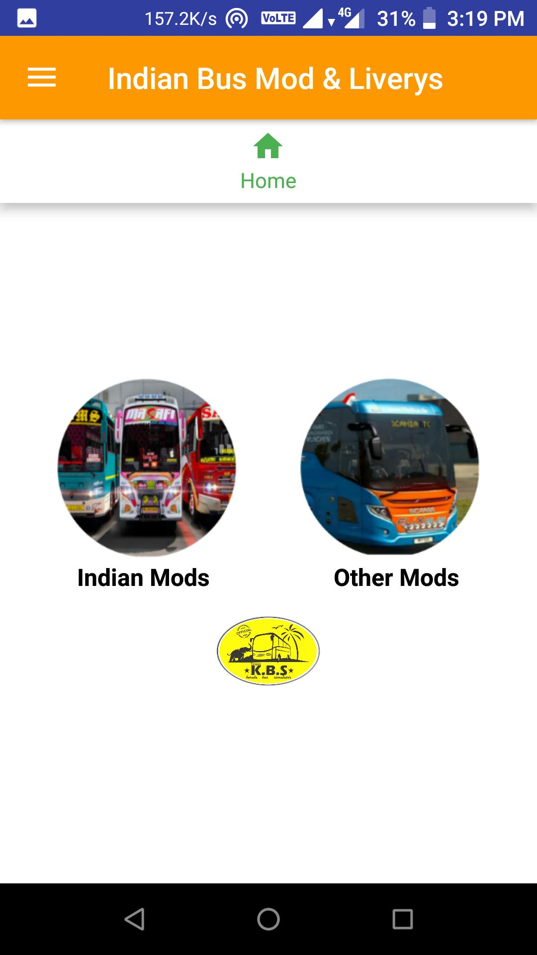 Indian bus mod livery for Android - APK Download