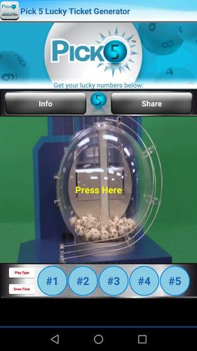 Pick 5 Lucky Ticket Generator for Android - APK Download
