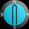 AR Bearing + Baseplate Compass ícone