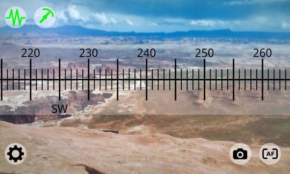 Boussole augmentée capture d'écran 1