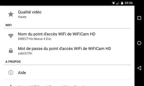 WiFiCam HD pour VideoCoach imagem de tela 2