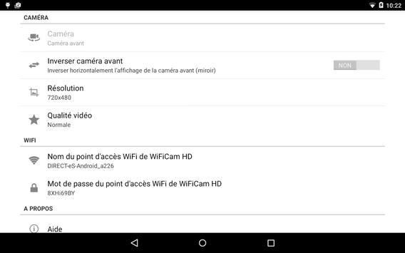 WiFiCam HD pour VideoCoach imagem de tela 8