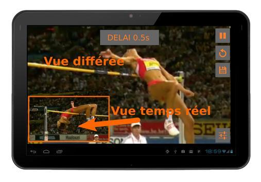 Video Coach. Miroir différé スクリーンショット 2