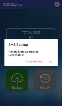 SMS Backup screenshot 2