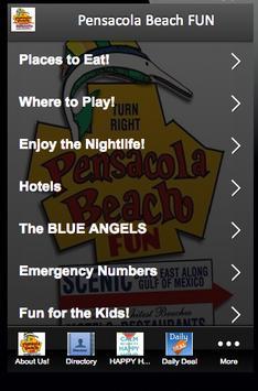 Pensacola Beach FUN screenshot 1