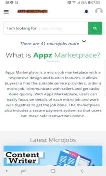 Appz Marketplace - Get the Job Done screenshot 1