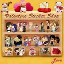 Valentine's Stickers,Smileys,Posters and Wallpaper APK