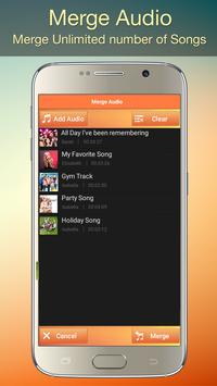 Audio MP3 Cutter Mix Converter and Ringtone Maker captura de pantalla 3
