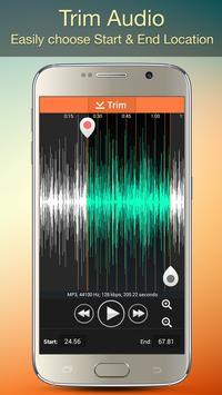 Audio MP3 Cutter Mix Converter and Ringtone Maker screenshot 2