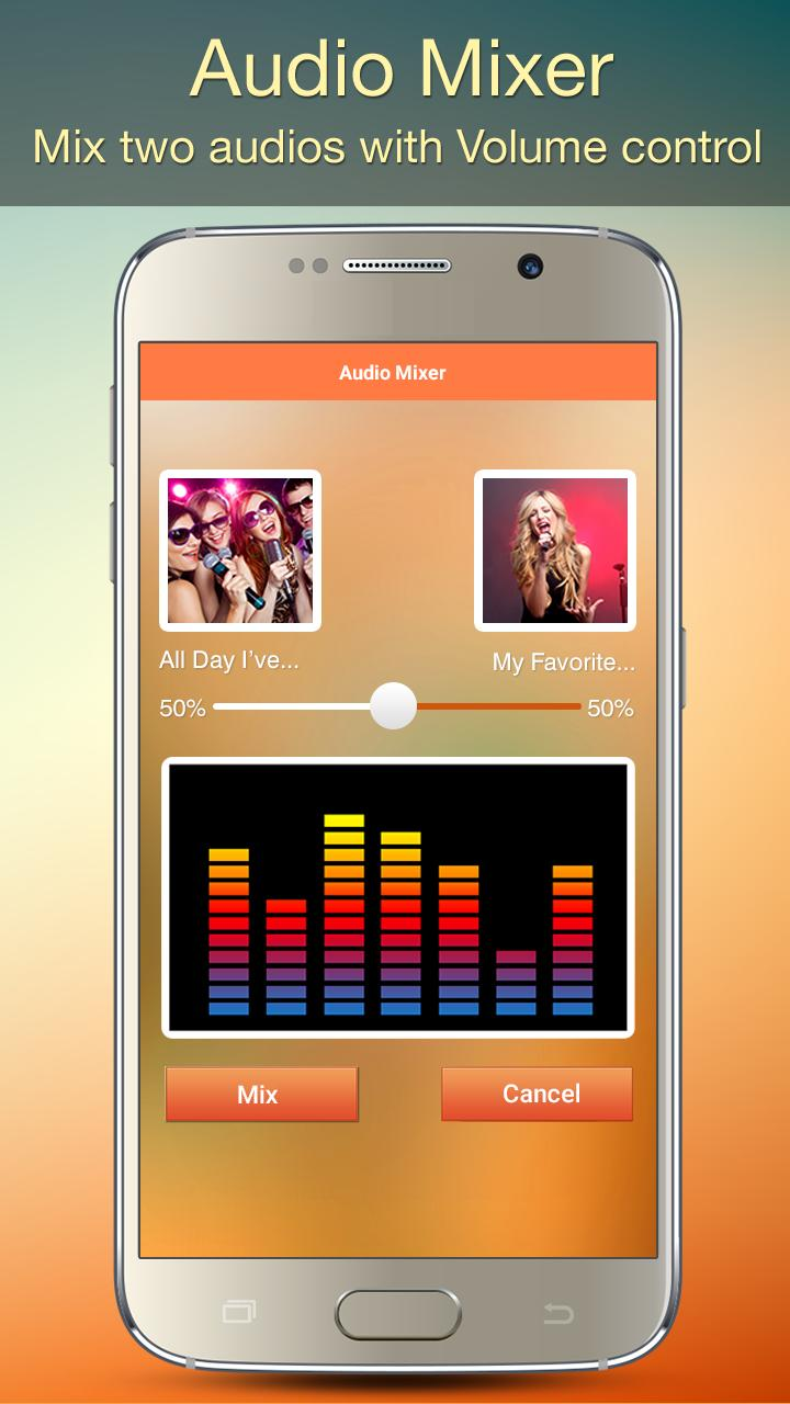 Audio MP3 Cutter Mix Converter and Ringtone Maker for