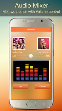 Audio MP3 Cutter Mix Converter and Ringtone Maker captura de pantalla 4