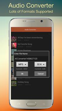 Audio MP3 Cutter Mix Converter and Ringtone Maker captura de pantalla 5