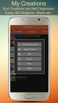 Audio MP3 Cutter Mix Converter and Ringtone Maker screenshot 6