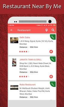 Restaurant Finder : Near By Me screenshot 5