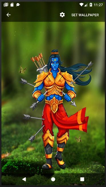 4D Jai Sri Ram Parallax Live Wallpaper for Android - APK ...
