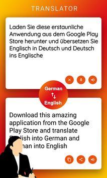 English German Translator poster