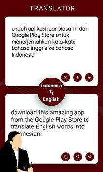 English Indonesia Translator poster
