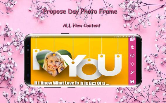 Propose Day Photo Frame screenshot 3
