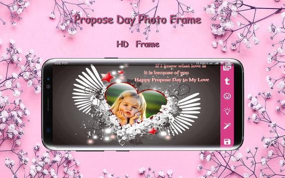Propose Day Photo Frame screenshot 4