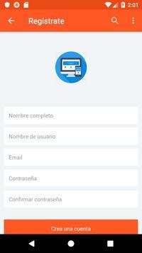 Plantilla de interfaz de usuario para aplicación screenshot 2