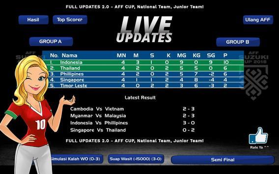 Liga Indonesia 2019/2020 ⚽️ AFF Cup Football screenshot 14