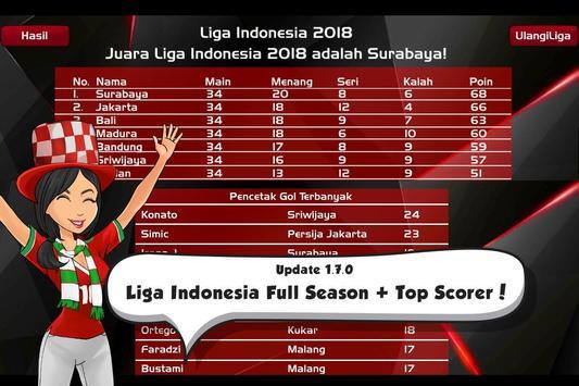 Liga Indonesia 2019/2020 ⚽️ AFF Cup Football screenshot 7