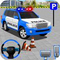 Police Jeep Spooky Stunt Parking 3D