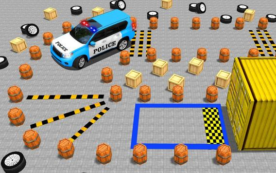 US Police Spooky Jeep Parking Simulator New Games poster
