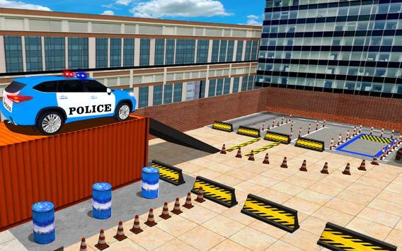 US Police Spooky Jeep Parking Simulator New Games screenshot 13