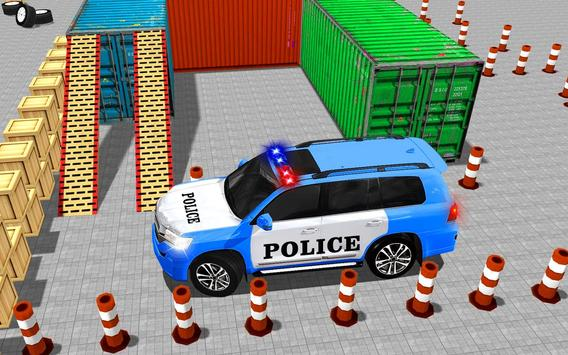 US Police Spooky Jeep Parking Simulator New Games screenshot 1